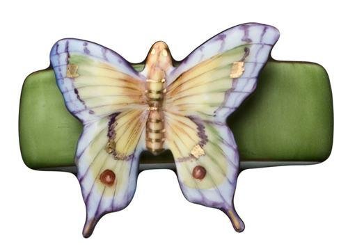 $105.00 Green Butterfly Napkin Ring