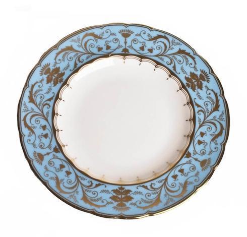 Royal Crown Derby  Darley Abbey Harlequin - Duck Egg Dinner Plate $155.00