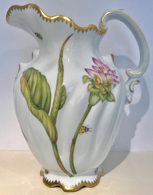 $475.00 Pink Flower Pitcher