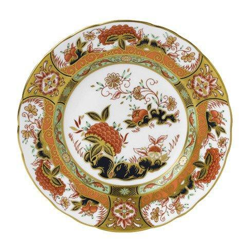 Royal Crown Derby  Imari Accent Imperial Garden Plate in Gift Box $244.00