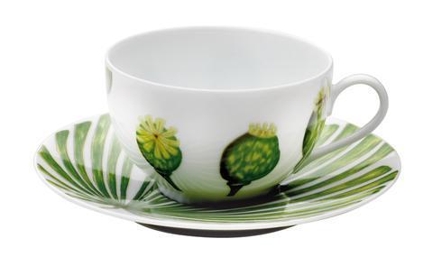 Medard de Noblat  Ikebana Tea Cup And Saucer $56.00
