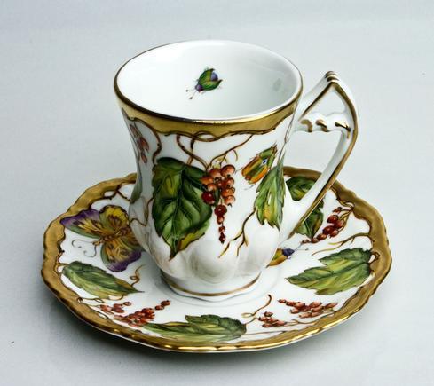 Demitasse Cup & Saucer