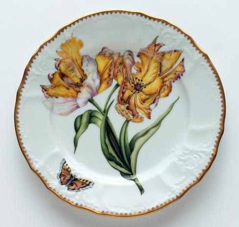 $320.00 Double Tulip Light Salad Plate