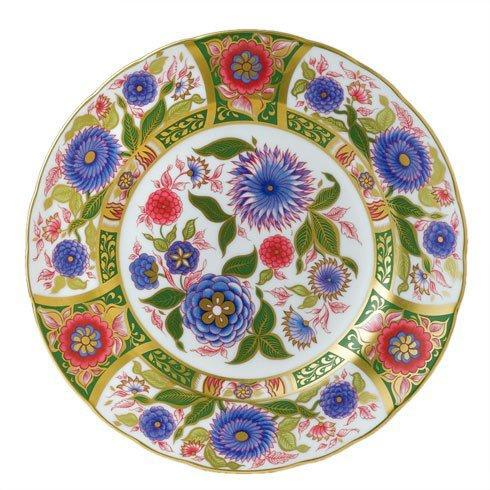 Royal Crown Derby  Imari Accent Kyoto Garden Plate in Gift Box $244.00