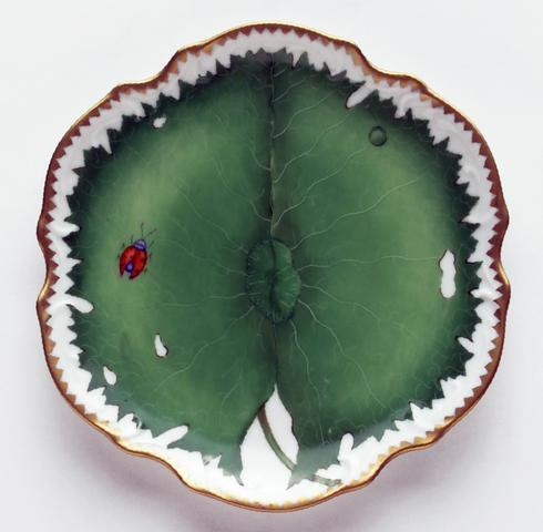 Anna Weatherley  Green Leaf Flat Bread & Butter Plate $294.00