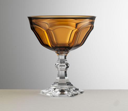 $28.00 Amber Footed Coupe