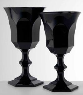 $21.00 Black Wine Goblet