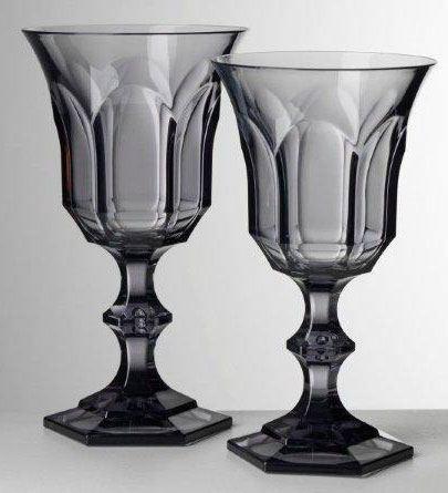 $21.00 Grey Wine Goblet