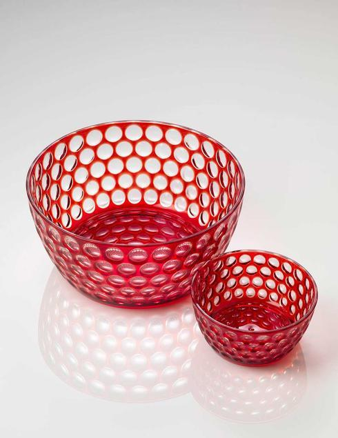 $21.00 Red Snack/Cereal Bowl