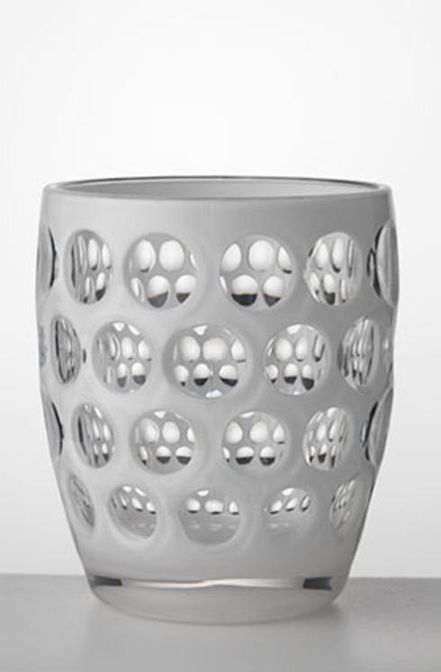 Mario Luca Giusti Barware Lente White Tumbler $18.00
