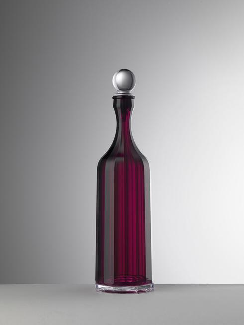 $65.00 Ruby Decanter With Sealed Stopper