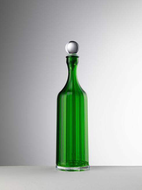 $65.00 Green Decanter With Sealed Stopper