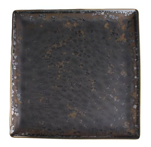Jaune de chrome  Aguirre - Gold Finition Square Plate 27CM $205.00