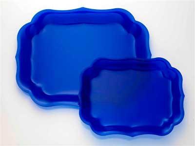 Royal Blue Tray