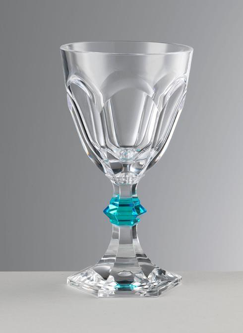 $24.00 Turquoise Wine Glass