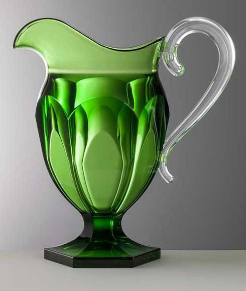 $96.00 Green Pitcher