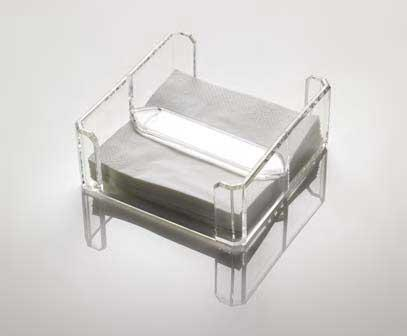 $65.00 Napkin Holder Clear