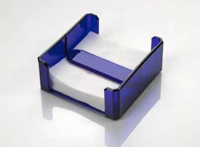 $65.00 Napkin Holder Blue