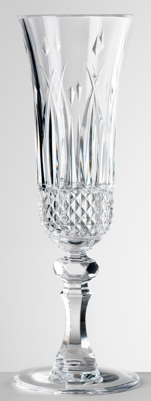 $25.00 Clear Champagne Flute