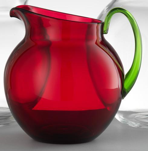 $68.00 Ruby/Green Pitcher