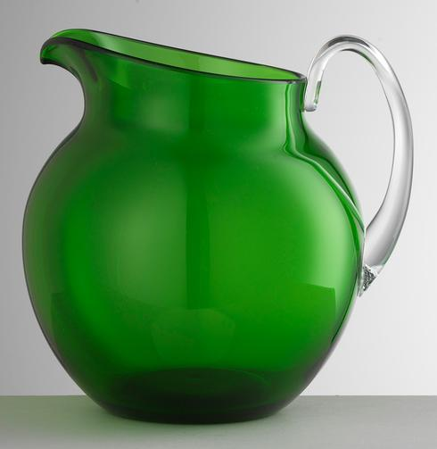 $68.00 Green Pitcher