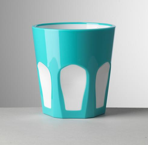 Turquoise/White Tumbler <br>(6 in stock)