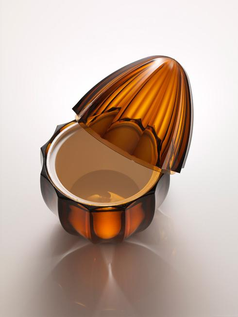 $198.00 Amber Ice Cream Holder