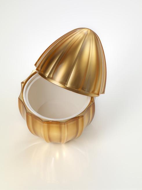 $225.00 Gold Ice Cream Holder