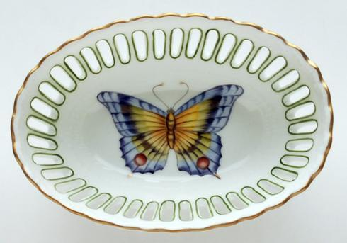 Small Oval Green Dish