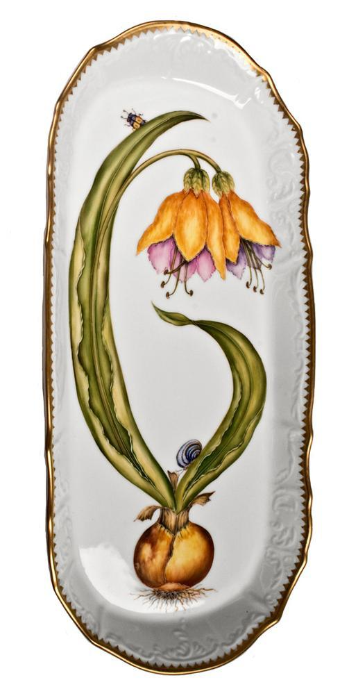 $498.00 Orchid Sandwich Tray
