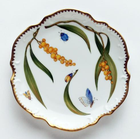Anna Weatherley  Mimosa Bread and Butter Plate $263.00