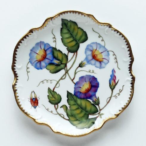 Anna Weatherley  Morning Glory Purple Flower Bread & Butter Plate $294.00