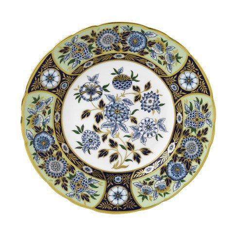 Royal Crown Derby  Imari Accent Midori Meadow Plate in Gift Box $260.00