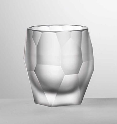 Mario Luca Giusti Barware Milly Clear Frost Tumbler $35.00