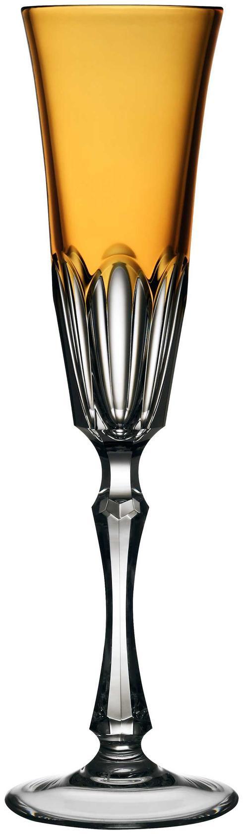$198.00 Amber Champagne Flute