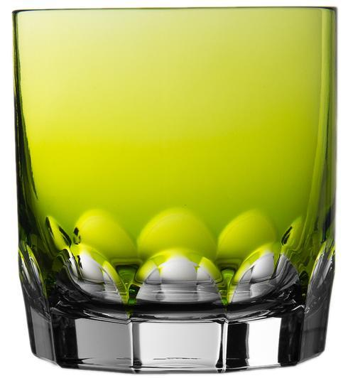 $198.00 Yellow Green Double Old Fashioned