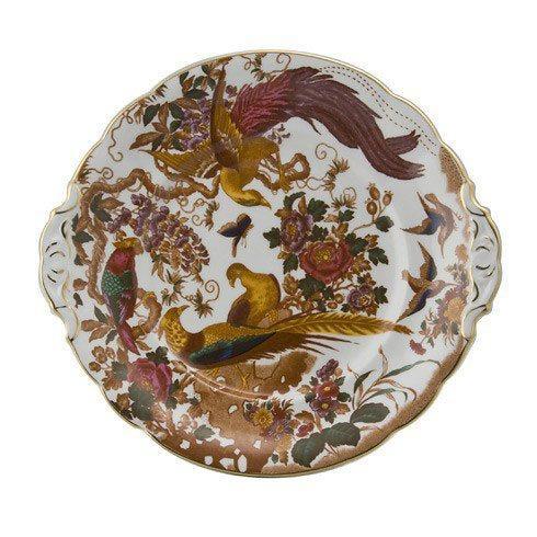 Royal Crown Derby  Olde Avesbury  Cake Plate $202.00