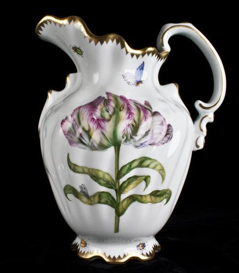 $425.00 Pitcher with Pink/Fuchsia Tulip