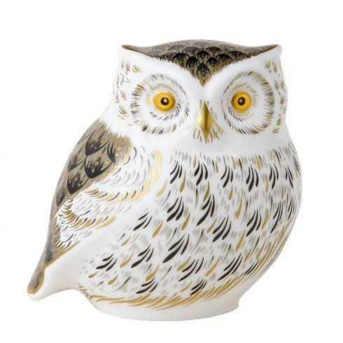 $212.00 Little Grey Owl Paperweight