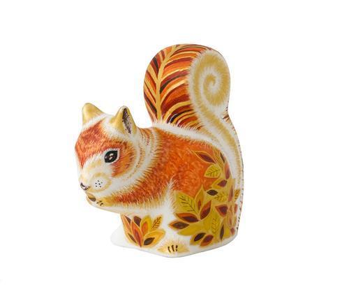 $228.00 Autumn Squirrel Paperweight