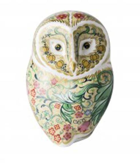 $202.00 Parchment Owl Paperweight