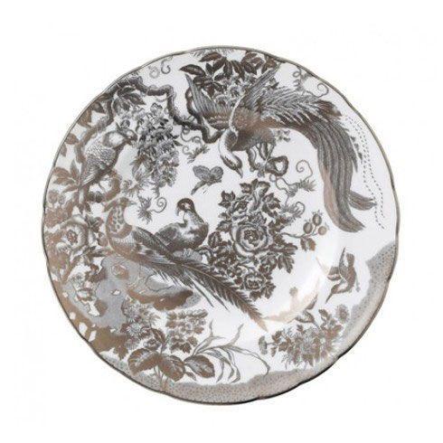 Royal Crown Derby  Aves - Platinum Salad Plate $155.00