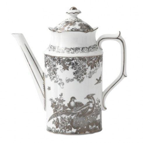 Royal Crown Derby  Aves - Platinum Coffee Pot $670.00