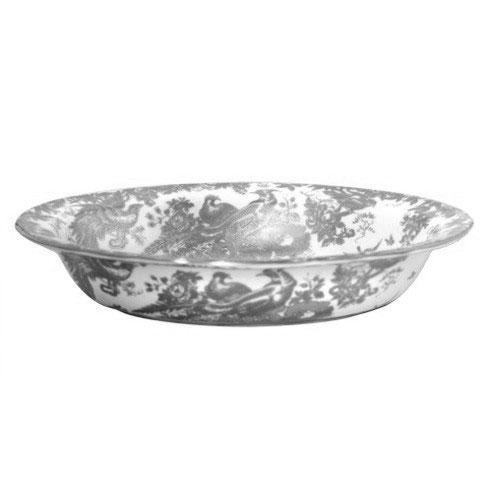 Royal Crown Derby  Aves - Platinum Open Vegetable Dish $430.00