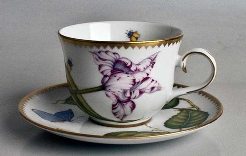 Tulip Cup and Saucer