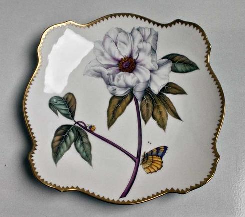 $210.00 White Flower Pasta Plate