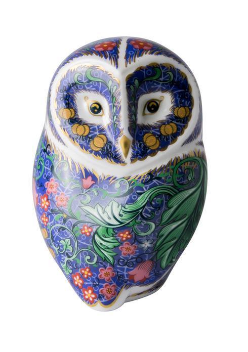 $202.00 Periwinkle Owl