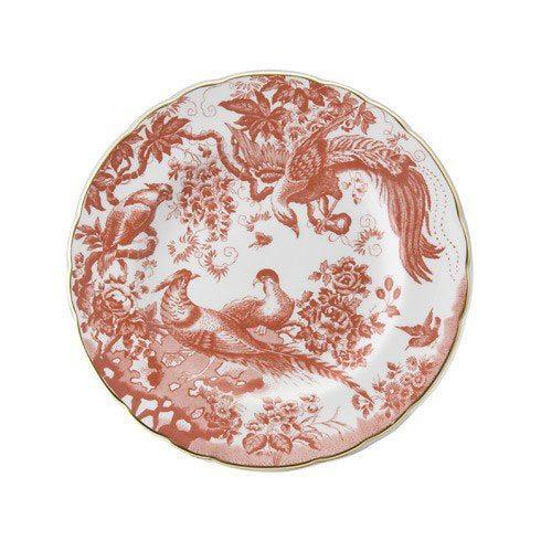 Royal Crown Derby   Aves Red Salad Plate $100.00