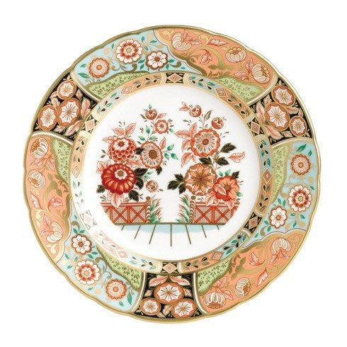 $260.00 Regency Flowers Plate in Gift Box