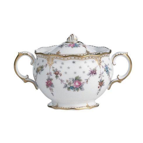 Royal Crown Derby  Royal Antoinette Covered Sugar Bowl $456.00
